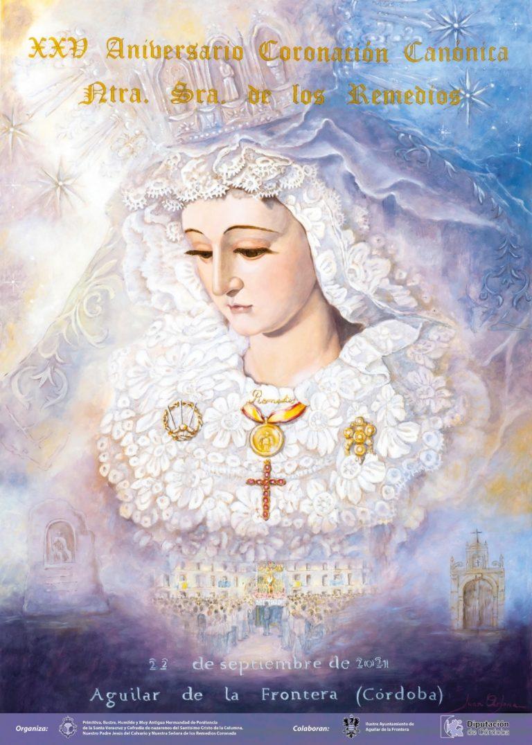 Cartel XXV Aniversario Coronación Canónica.